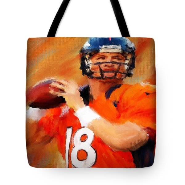 Manning Tote Bag by Lourry Legarde