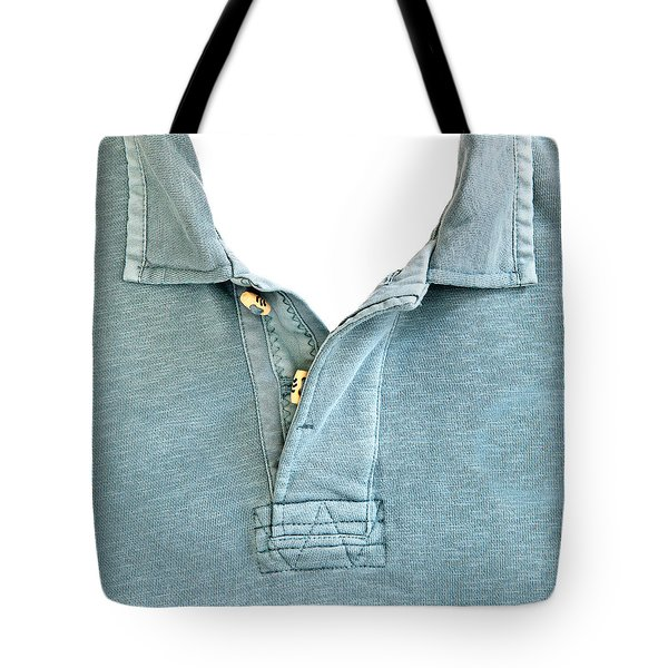 Man's Jersey Tote Bag by Tom Gowanlock