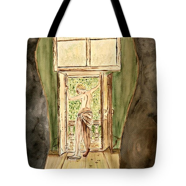 Man's Passion Tote Bag by Shlomo Zangilevitch