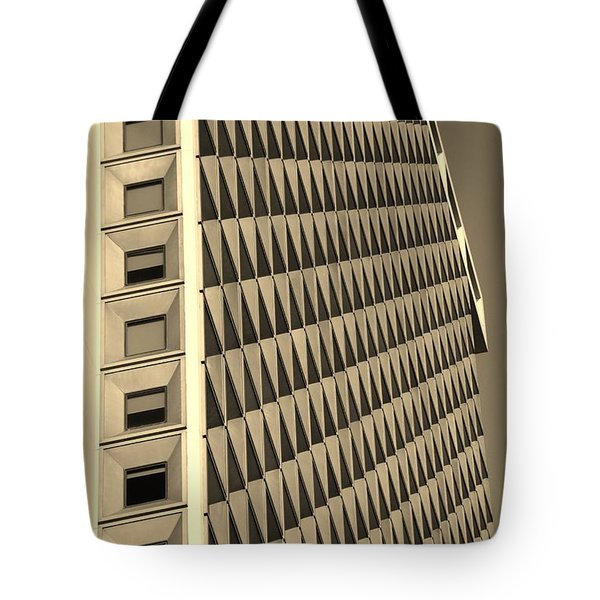 Many Windows In Sepia Tote Bag by Rob Hans