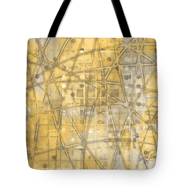 Map Of Secrets  Tote Bag by Ann Powell