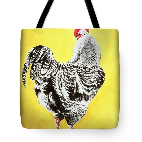 Maran Cockrel Tote Bag by Jeanne Maze