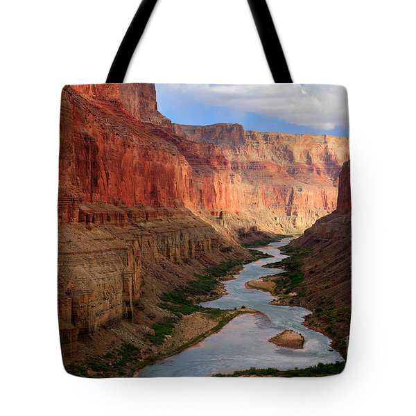 Marble Canyon Tote Bag by Inge Johnsson