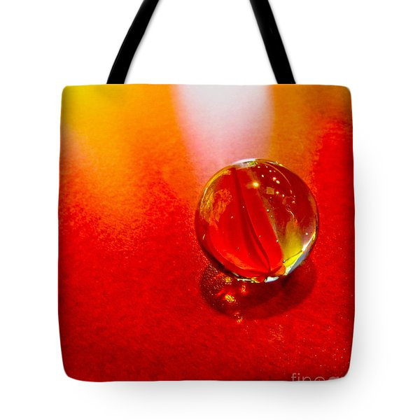 Marble Shine Tote Bag by Debbie Portwood