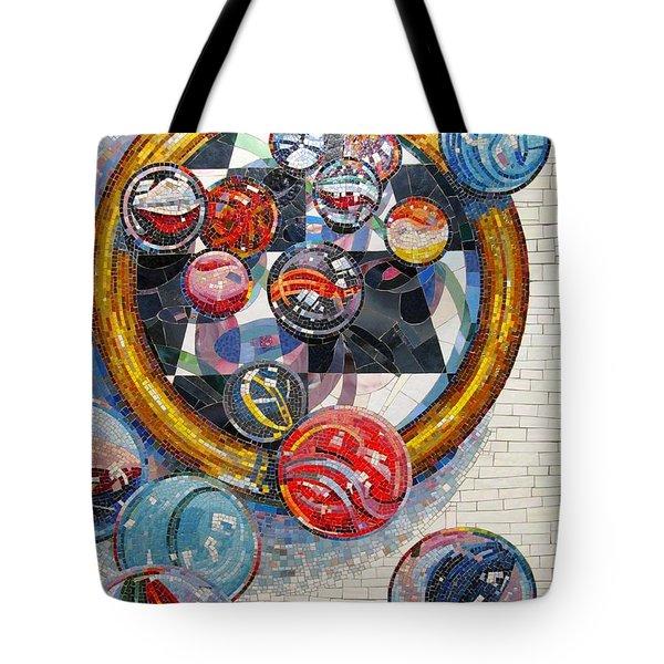 MARBLES Game  Tote Bag by Dan Haraga