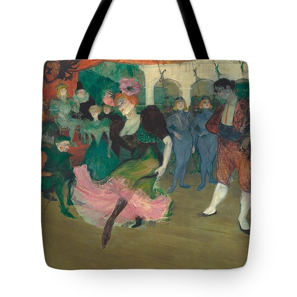 Marcelle Lender Dancing The Bolero In Chilperic Tote Bag by Toulouse-Lautrec