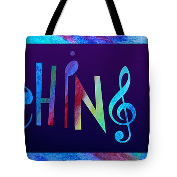 Marching Band Tote Bag by Jenny Armitage