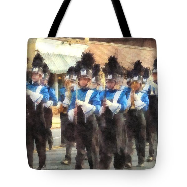 Marching Band Tote Bag by Susan Savad