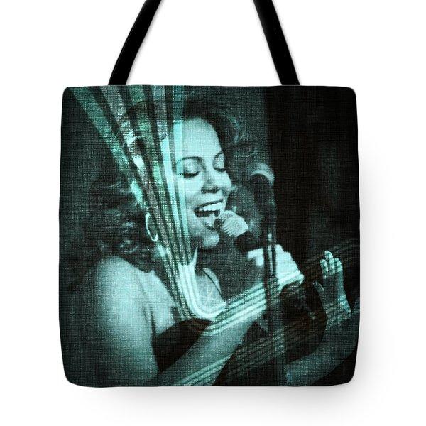 Mariah Carey - Beautiful Alchemy Tote Bag by Absinthe Art By Michelle LeAnn Scott