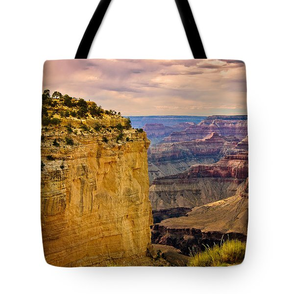 Maricopa Point Grand Canyon Tote Bag by  Bob and Nadine Johnston