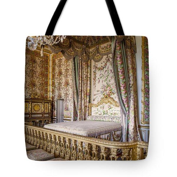 Marie Antoinette Bedroom Tote Bag by Brian Jannsen