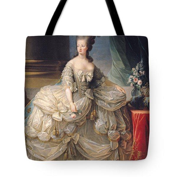 Marie Antoinette Queen Of France Tote Bag by Elisabeth Louise Vigee-Lebrun