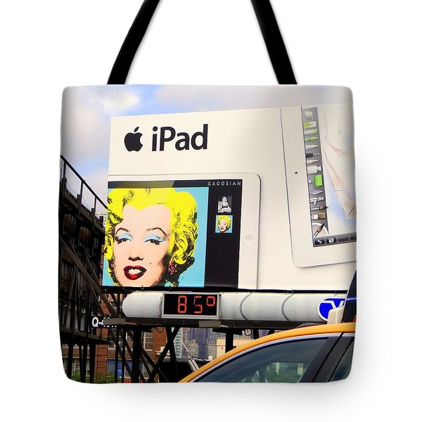 Marilyn At 85 Tote Bag by Ed Weidman