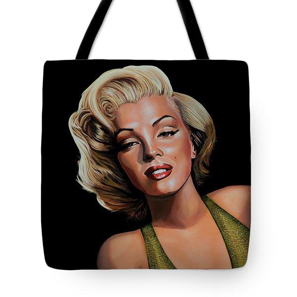 Marilyn Monroe 2 Tote Bag by Paul Meijering