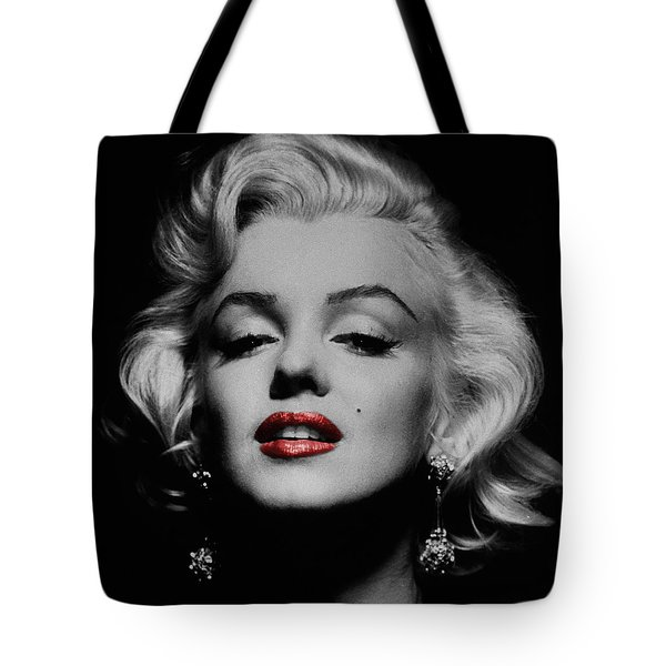 Marilyn Monroe 3 Tote Bag by Andrew Fare