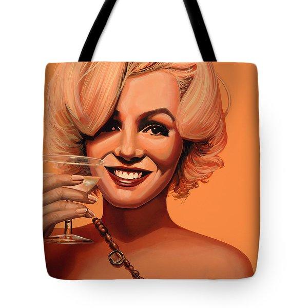 Marilyn Monroe 5 Tote Bag by Paul Meijering