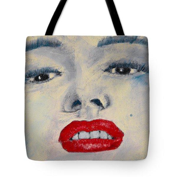 Marilyn Monroe Tote Bag by David Patterson