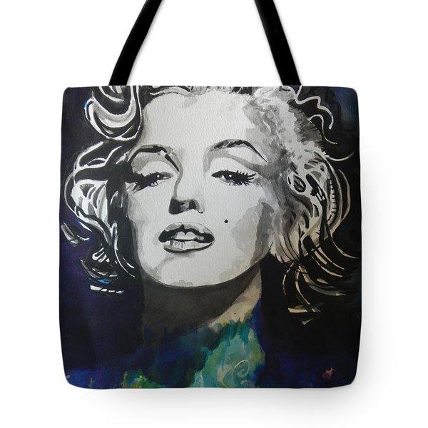 Marilyn Monroe..2 Tote Bag by Chrisann Ellis