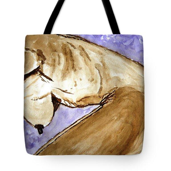 Marina. Tote Bag by Shlomo Zangilevitch
