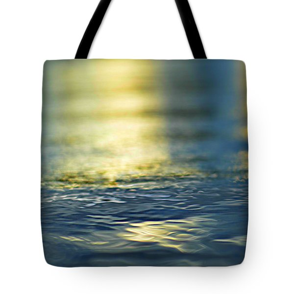 marine blues Tote Bag by Laura  Fasulo