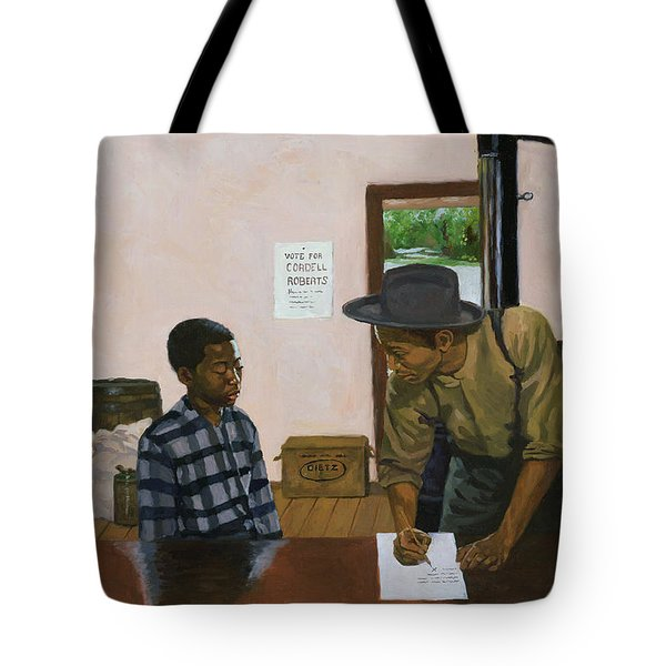 Mark Of Shame Tote Bag by Colin Bootman