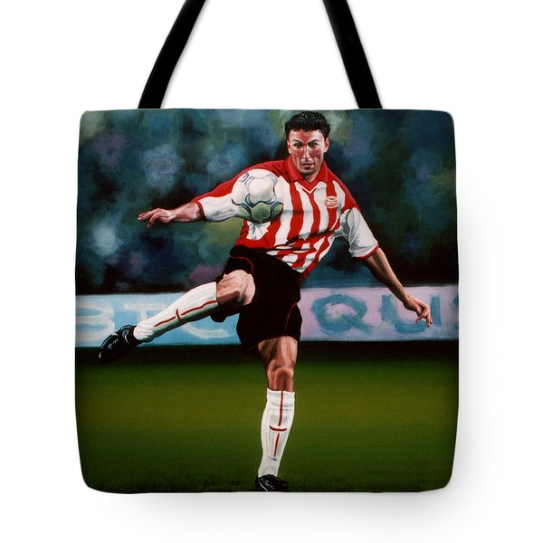 Mark Van Bommel Tote Bag by Paul Meijering