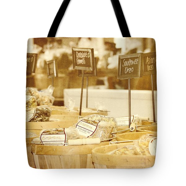 Market Day Tote Bag by Kim Hojnacki