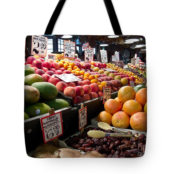 Market Fresh Tote Bag by Arlene Carmel