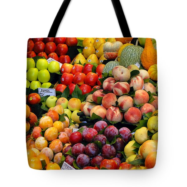 Market Time II Tote Bag by Sue Melvin
