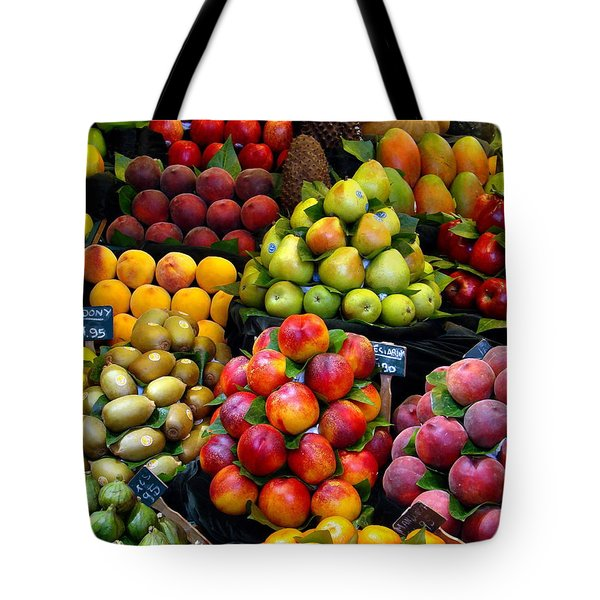 Market Time Tote Bag by Sue Melvin