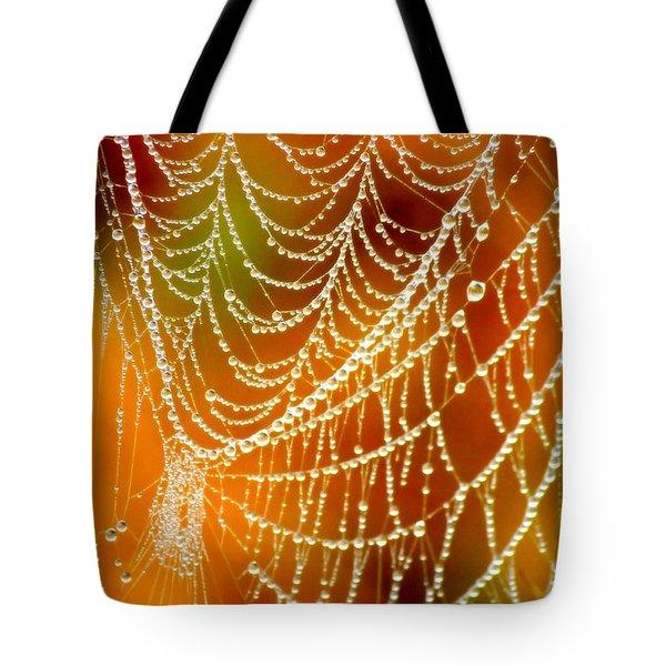 Marsh Pearls Tote Bag by Carol Groenen