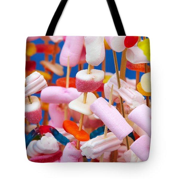 Marshmallow Tote Bag by Carlos Caetano