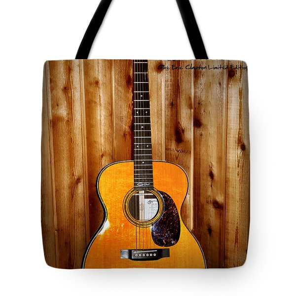 Martin Guitar - The Eric Clapton Limited Edition Tote Bag by Bill Cannon