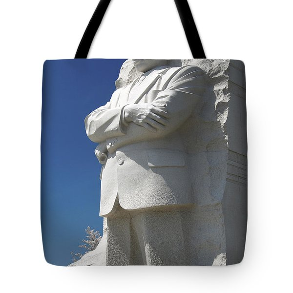 Martin Luther King Jr. Memorial Tote Bag by Mike McGlothlen
