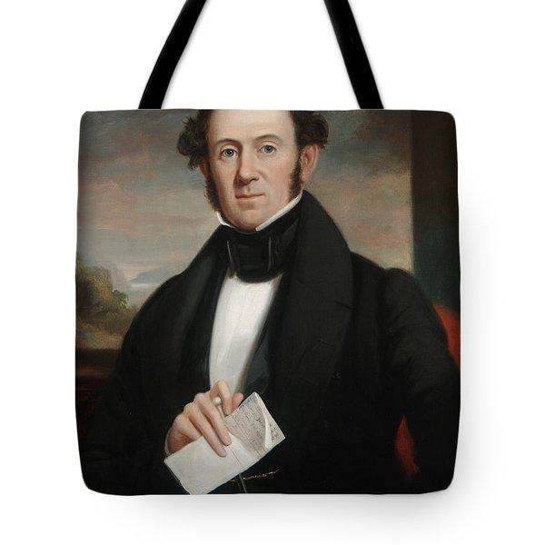 Martin Van Buren Tote Bag by Shepard Alonzo Mount