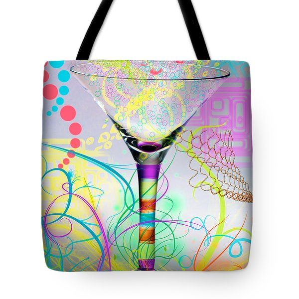 Martini Tote Bag by Mauro Celotti