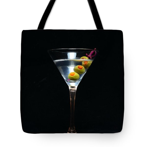 Martini Tote Bag by Paul Ward
