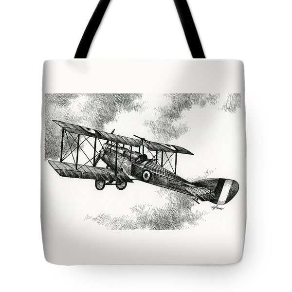 Martinsyde G 100 Tote Bag by James Williamson