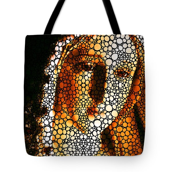 Mary - Holy Mother By Sharon Cummings Tote Bag by Sharon Cummings