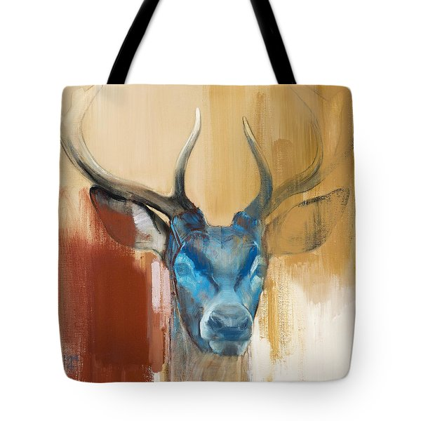 Mask Tote Bag by Mark Adlington