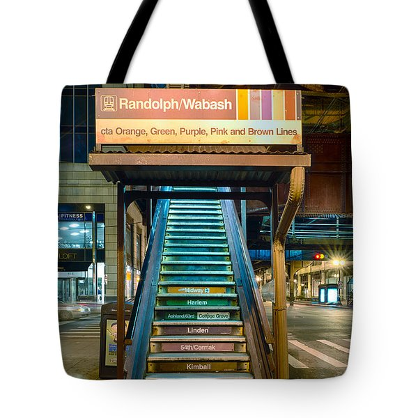 Mass Transit Tote Bag by Sebastian Musial