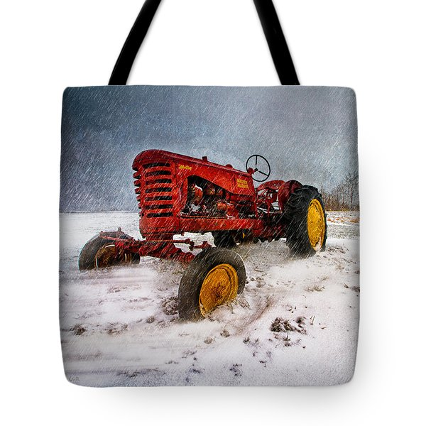 Massey Harris Mustang Tote Bag by Bob Orsillo