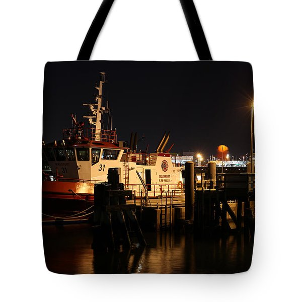 Massport Fire Rescue 31 Tote Bag by Juergen Roth