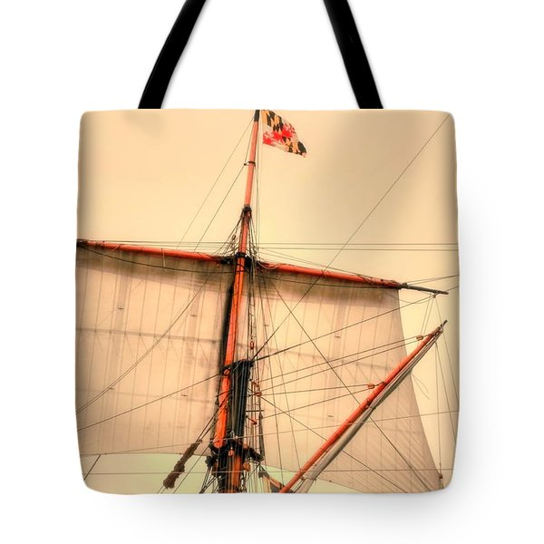 Mast Tote Bag by Kathleen Struckle