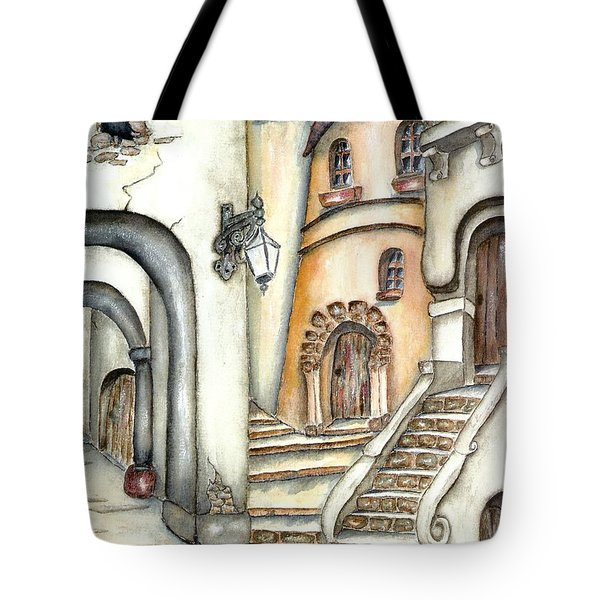 Matera Tote Bag by Pamela Allegretto