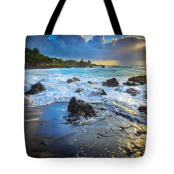 Maui Dawn Tote Bag by Inge Johnsson