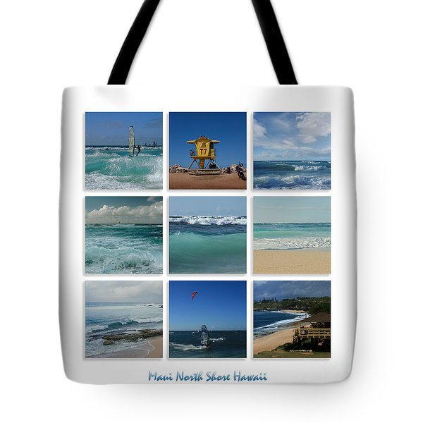 Maui North Shore Hawaii Tote Bag by Sharon Mau
