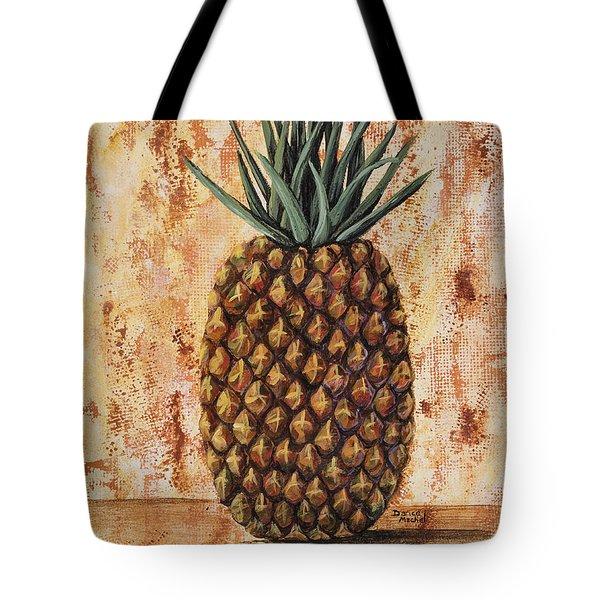 Maui Pineapple Tote Bag by Darice Machel McGuire