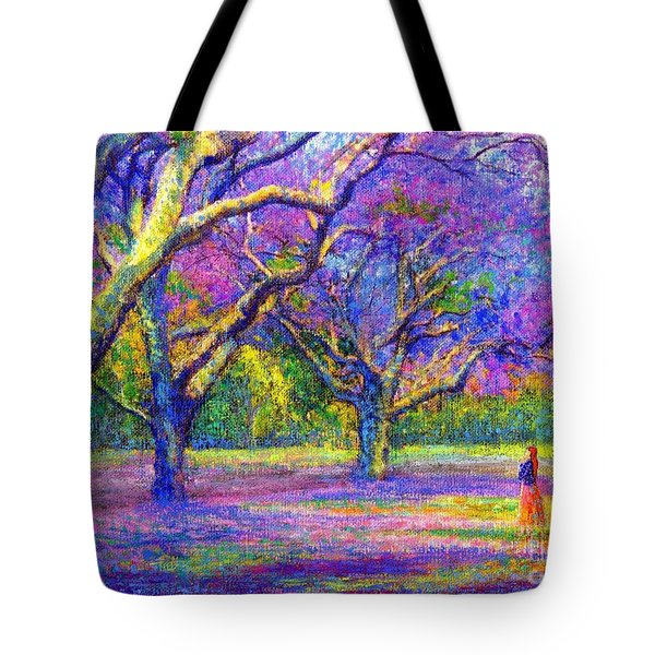 Mauve Majesty Tote Bag by Jane Small