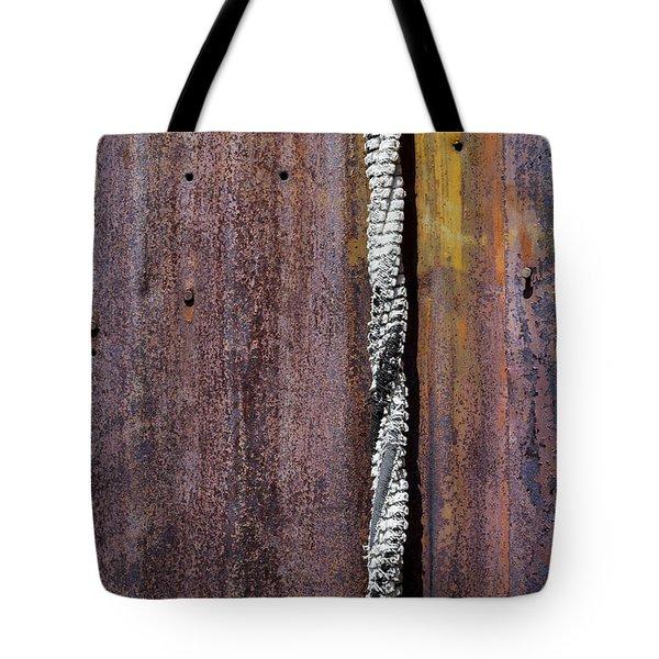 Maximum Decay  Tote Bag by Fran Riley